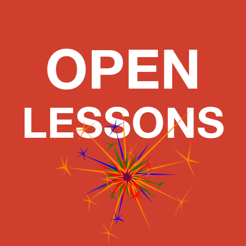 Online open lessons and consultations